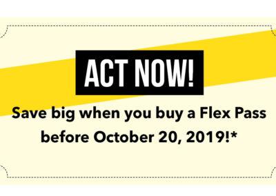 Flex Pass Act Now